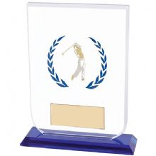 Gladitator Golf Glass Plaque